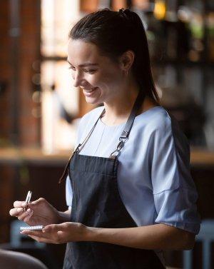для работников ресторанов, кафе, баров, столовых (общепит)