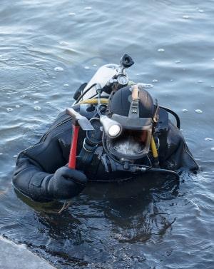 для специалистов, которые работают под водой