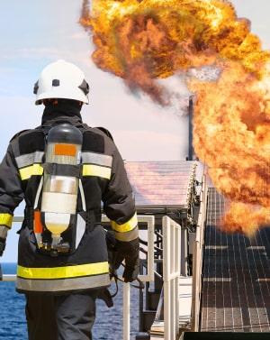 для специалистов, которые работают для ликвидации газо- и нефтяных фонтанов