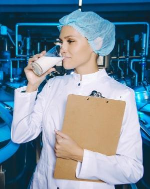 для работников предприятий молочной промышленности