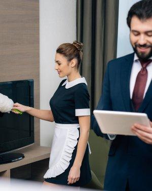 для работников сферы гостиничного бизнеса
