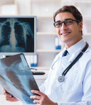 ФЛГ (флюорография органов грудной клетки)