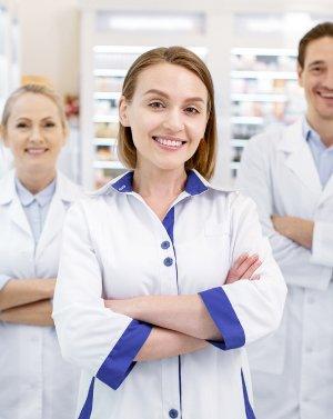 для работников фармацевтических производств и аптечных сетей